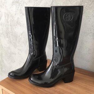 Gucci GG Logo Size 7 Rain Boots